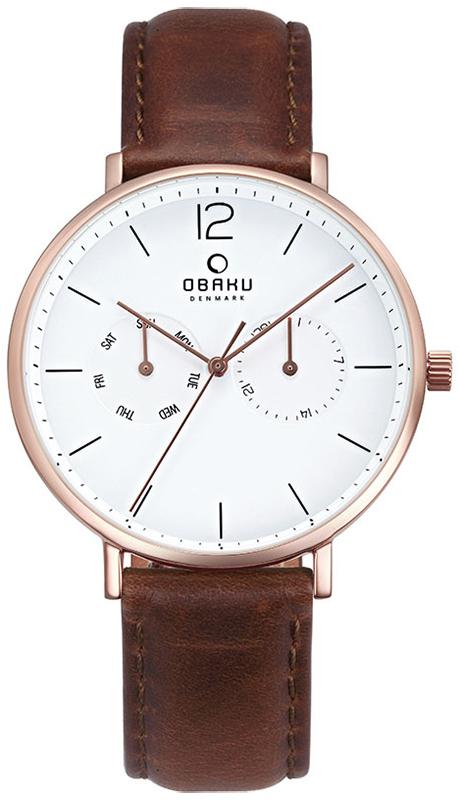 Obaku Denmark V182GMVWRN - zegarek męski