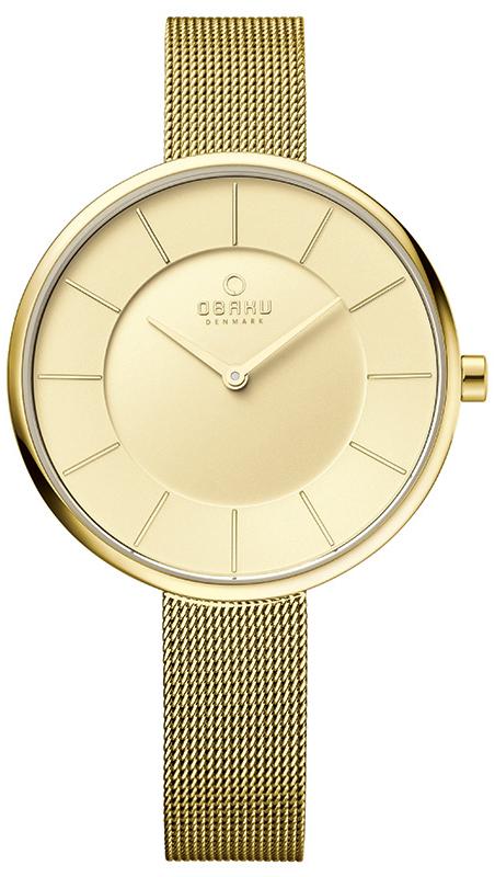 Obaku Denmark V185LXGGMG - zegarek damski
