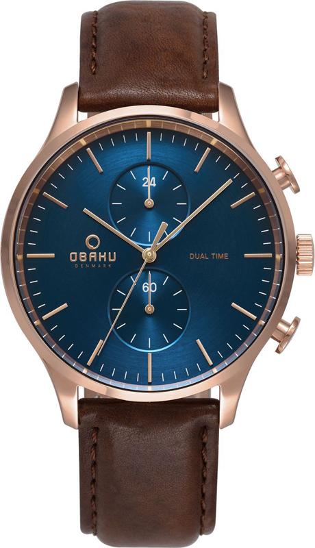 Obaku Denmark V196GUVLRN - zegarek męski