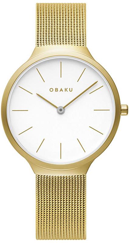Obaku Denmark V240LXGWMG - zegarek damski