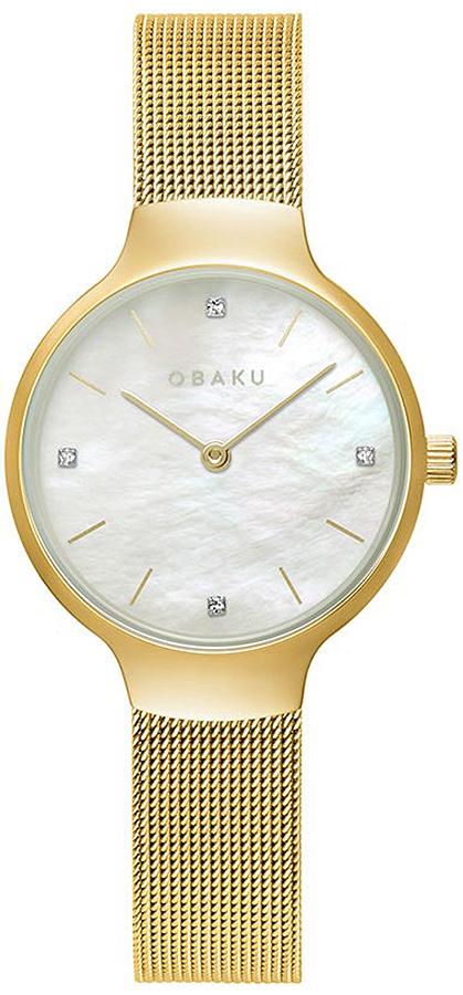 Obaku Denmark V241LXGWMG - zegarek damski
