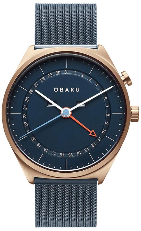 Obaku Denmark V242GMVLML - zegarek męski