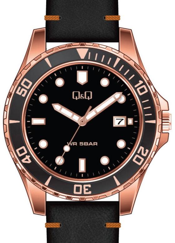 QQ A172-801 - zegarek męski