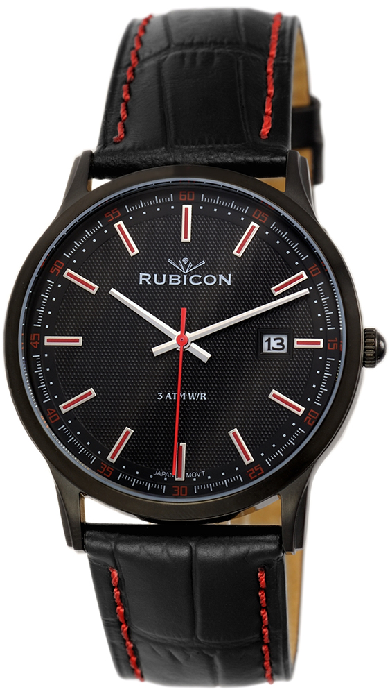 Rubicon RNCD85BIBR05BX - zegarek męski