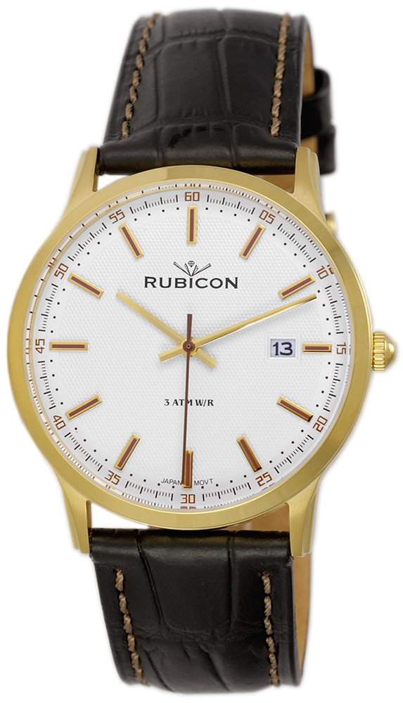 Rubicon RNCD85GISX05BX - zegarek męski