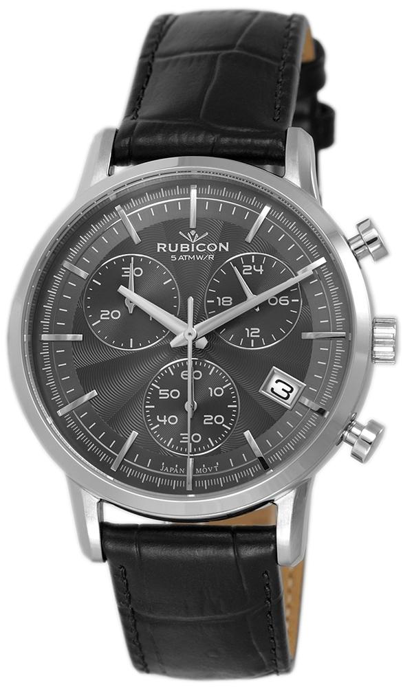 Rubicon RNCD99SIVX05AX - zegarek męski