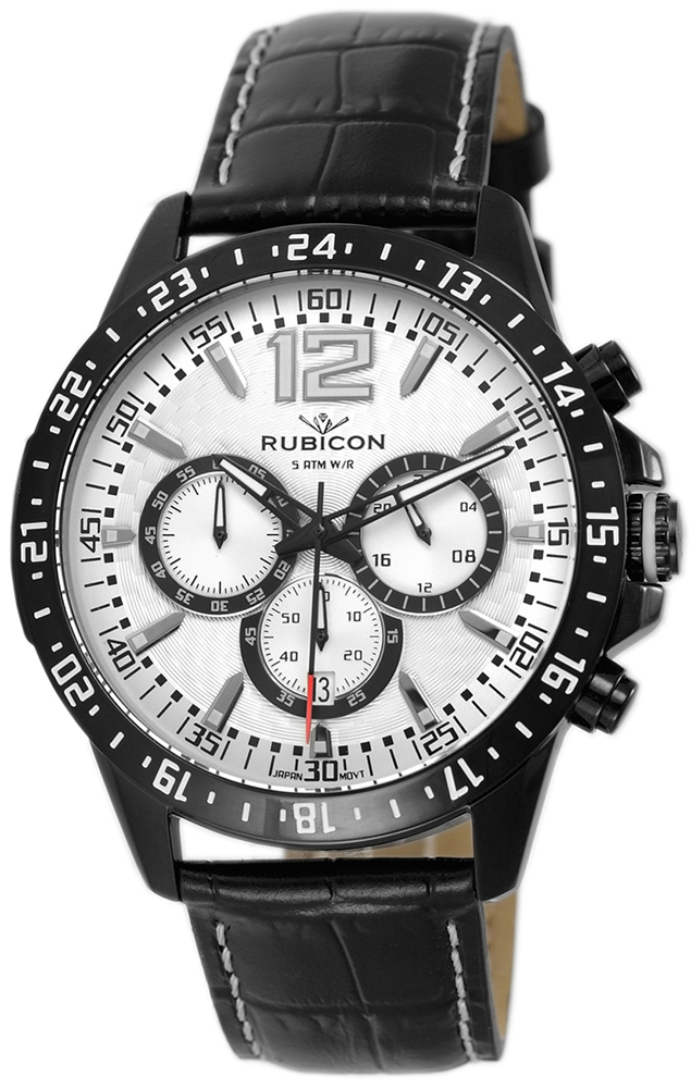 Rubicon RNCE02BMSX05AX - zegarek męski
