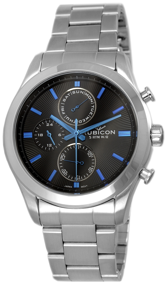 Rubicon RNDE03SIBD05AX - zegarek męski