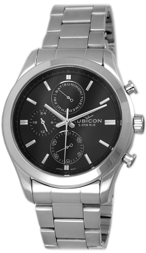 Rubicon RNDE03SIBX05AX - zegarek męski
