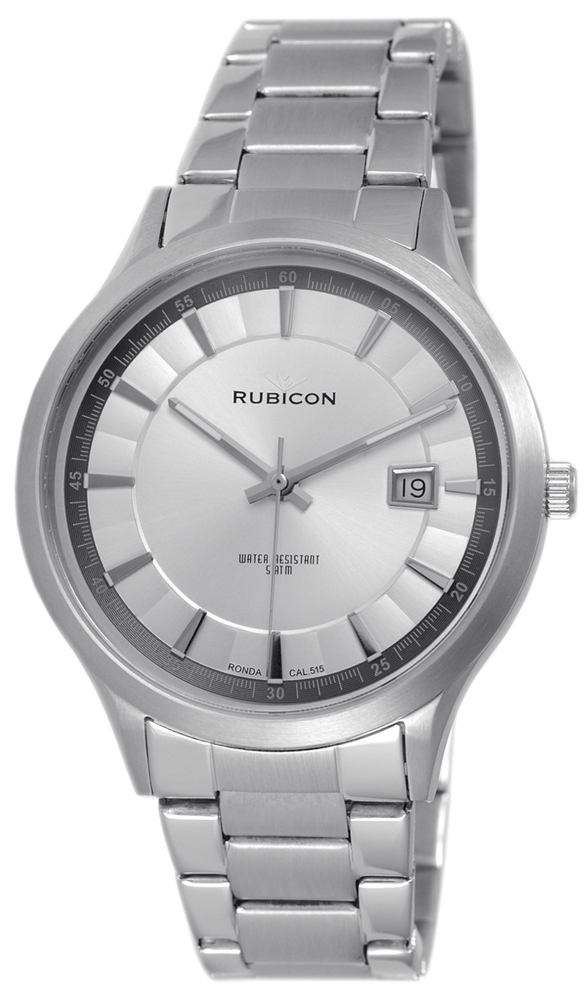 Rubicon RNDE08SISX05BX - zegarek męski