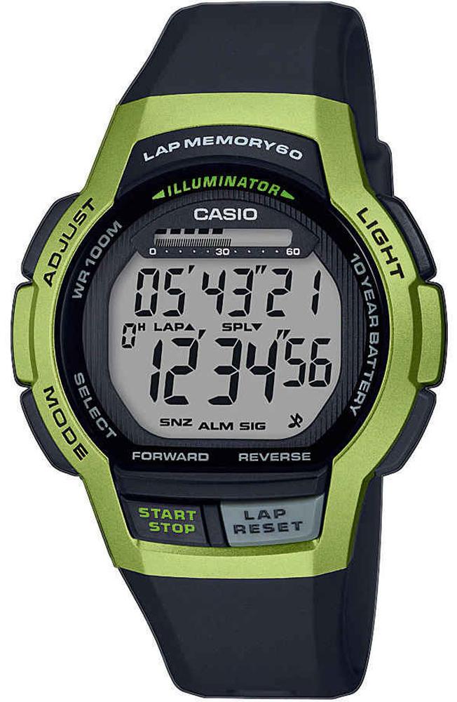 Casio WS-1000H-3AVEF - zegarek męski