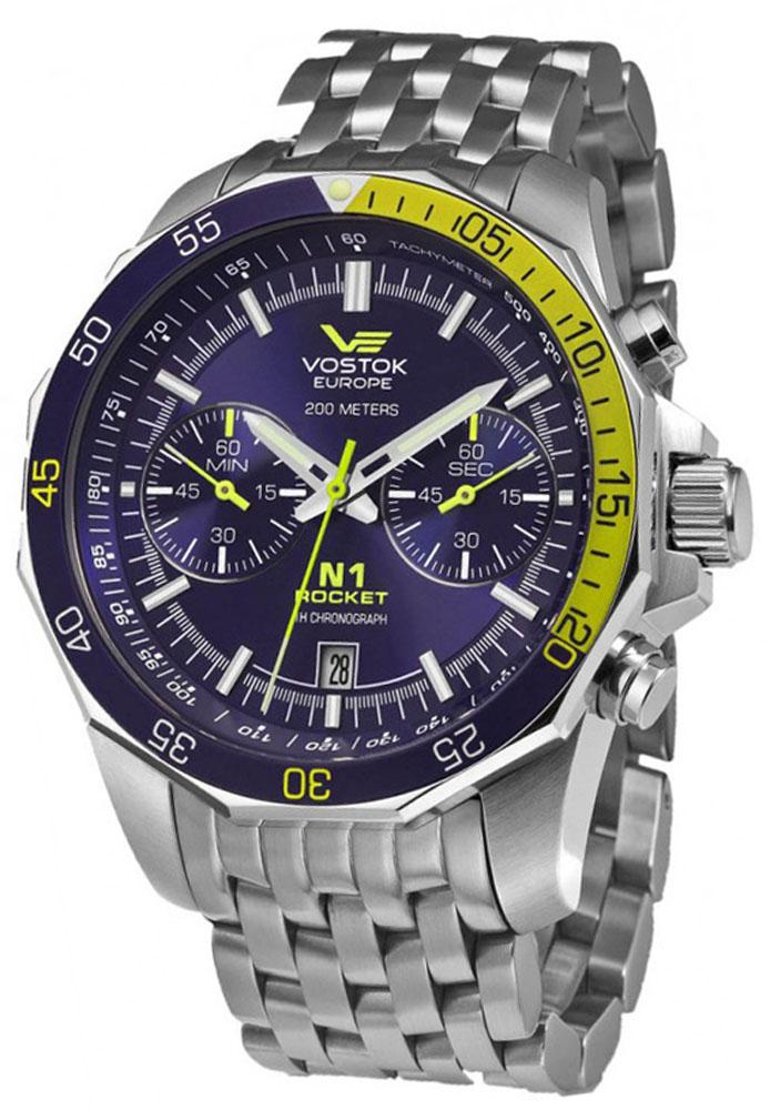 Vostok Europe 6S21-2255253B - zegarek męski