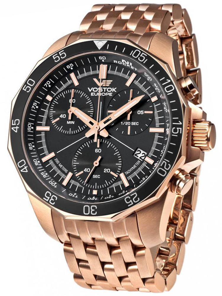 Vostok Europe 6S30-2259179B - zegarek męski