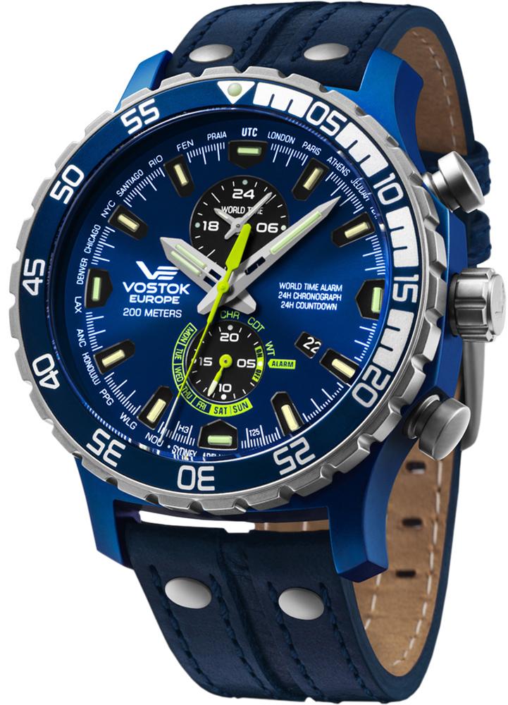 Vostok Europe YM8J-597E546 - zegarek męski