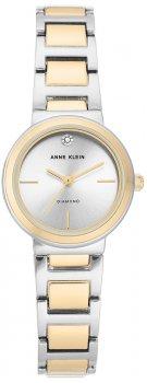 Anne Klein AK-3529SVTT-POWYSTAWOWY - zegarek damski