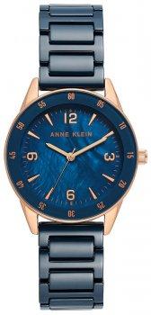Zegarek damski Anne Klein AK-3658RGDB