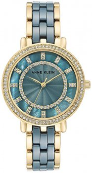 Zegarek damski Anne Klein AK-3810BLGB