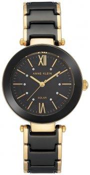 Anne Klein AK-3844BKGB-POWYSTAWOWY - zegarek damski