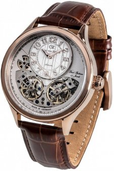 Carl von Zeyten CVZ0055RWH - zegarek męski