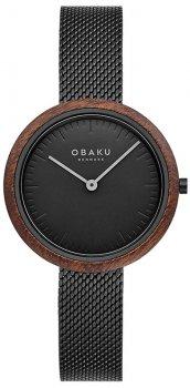 Zegarek damski Obaku Denmark V245LXBBMB