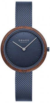 Zegarek damski Obaku Denmark V245LXLLML
