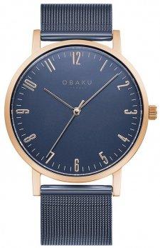 Zegarek męski Obaku Denmark V248GXVLML