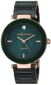 Anne Klein AK-1018RGGN - zegarek damski