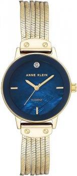 Anne Klein AK-3220NMGB - zegarek damski