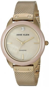 Anne Klein AK-3258TNGB - zegarek damski
