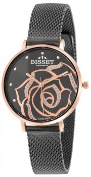Bisset BSBF32RIVX03BX - zegarek damski