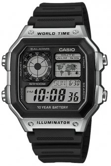 Casio AE-1200WH-1CVEF - zegarek męski