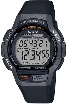 Casio WS-1000H-1AVEF - zegarek męski