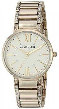 Anne Klein AK-3200CHGB - zegarek damski