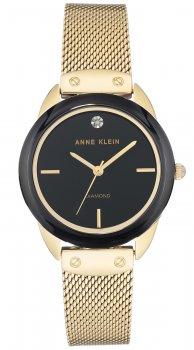 Anne Klein AK-3258BKGB - zegarek damski