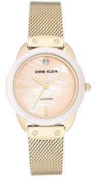 Anne Klein AK-3258LPGB - zegarek damski