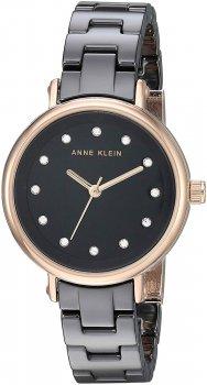 Anne Klein AK-3312BKRG - zegarek damski