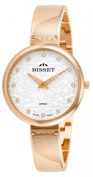 Bisset BSBF20RISX03BX - zegarek damski