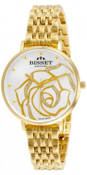 Bisset BSBF32GISX03BX - zegarek damski