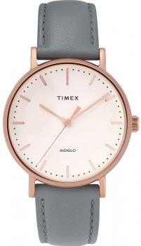 Timex TW2T31800-POWYSTAWOWY - zegarek damski