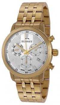 Bisset BSDE02GISW05AX-POWYSTAWOWY - zegarek męski