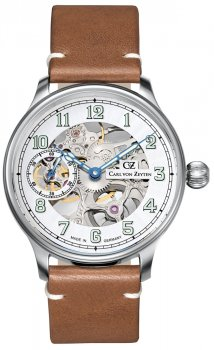Carl von Zeyten CVZ0021WH - zegarek męski