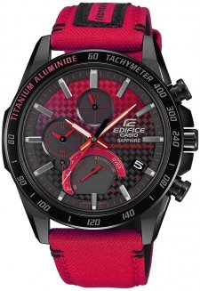 EDIFICE EQB-1000HRS-1AER - zegarek męski