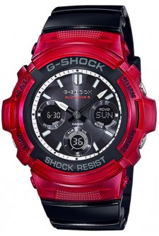 G-SHOCK AWG-M100SRB-4AER - zegarek męski