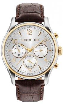 Cerruti 1881 CRA107STG04BR - zegarek męski