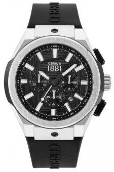 Cerruti 1881 CRA163STB02BK - zegarek męski