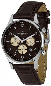 Jacques Lemans 1-1654D - zegarek męski