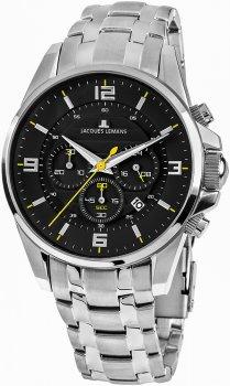 Jacques Lemans 1-1799F - zegarek męski