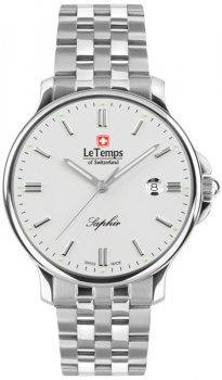 Le Temps LT1067.03BS01-POWYSTAWOWY - zegarek męski