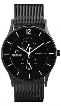 Obaku Denmark V157GMBBMB - zegarek męski