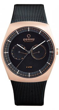 Obaku Denmark V176GMVBMB - zegarek męski